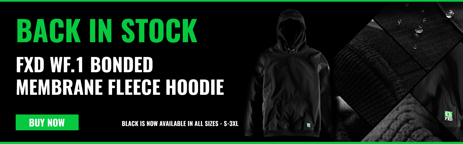 FXD Hoodie Back In Stock